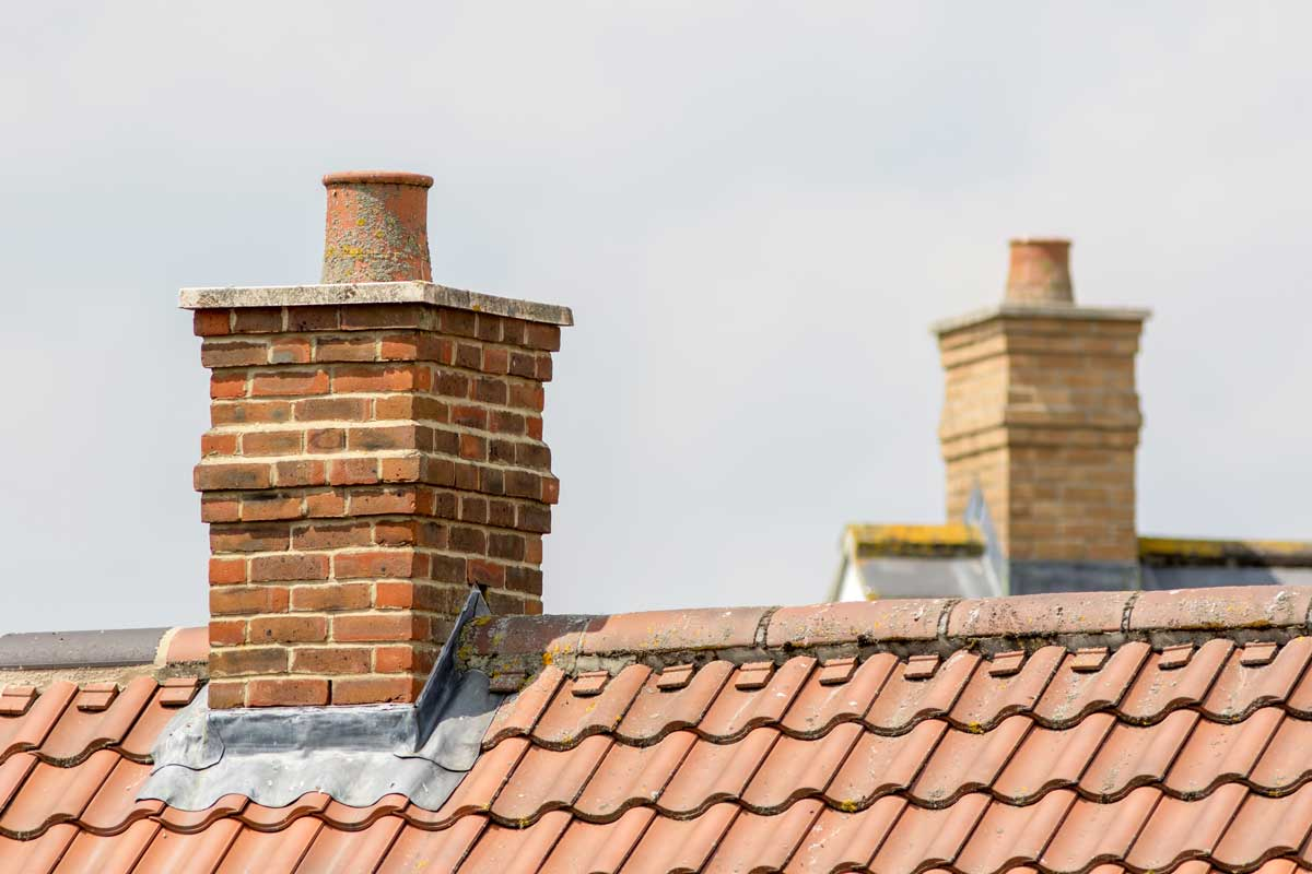 Seal your chimney when it's not in use